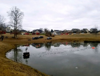 Kids rescued from frozen Travelers Rest pond
