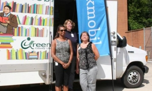 Northern Greenville County bookmobile stops, schedule