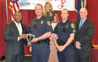 Travelers Rest PD, officers recognized for DUI enforcement