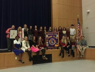 Leo Club launched at Travelers Rest High School