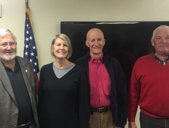 Glassy Mountain FD commissioners sworn in