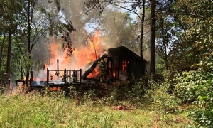 Multiple departments respond to 'suspicious' fire in northern Greenville County