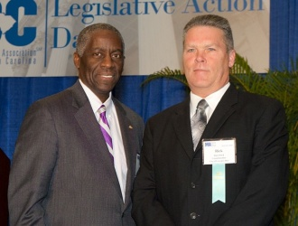 Councilmember Rick Floyd graduates from Municipal Elected Officials Institute of Government